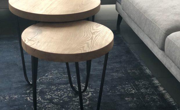 drewniane stoliki kawowe