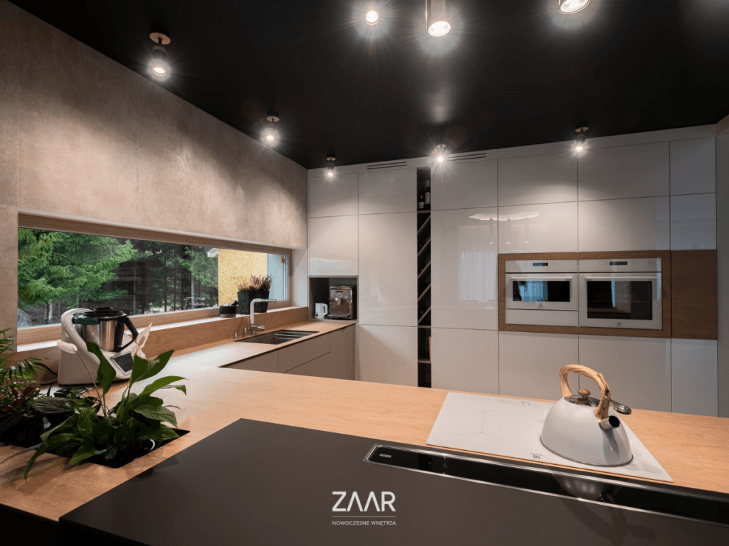 kuchnia-blat   ZAAR   nowoczesne wnętrza   Bielsko